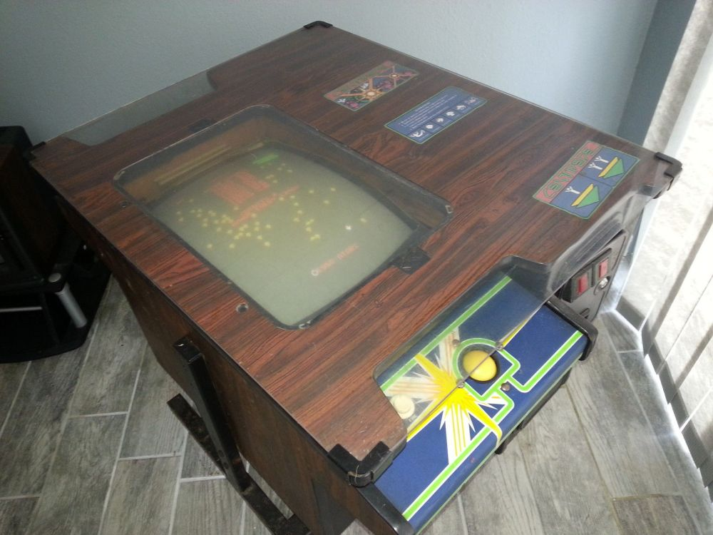 Super Rare Atari Centipede Cocktail Surfaces The Arcade Blogger - Atari coffee table
