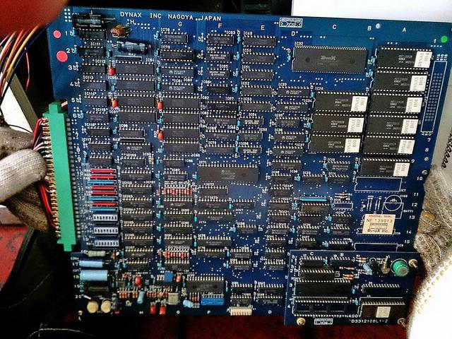 Japanese Arcade PCB Circuit Board