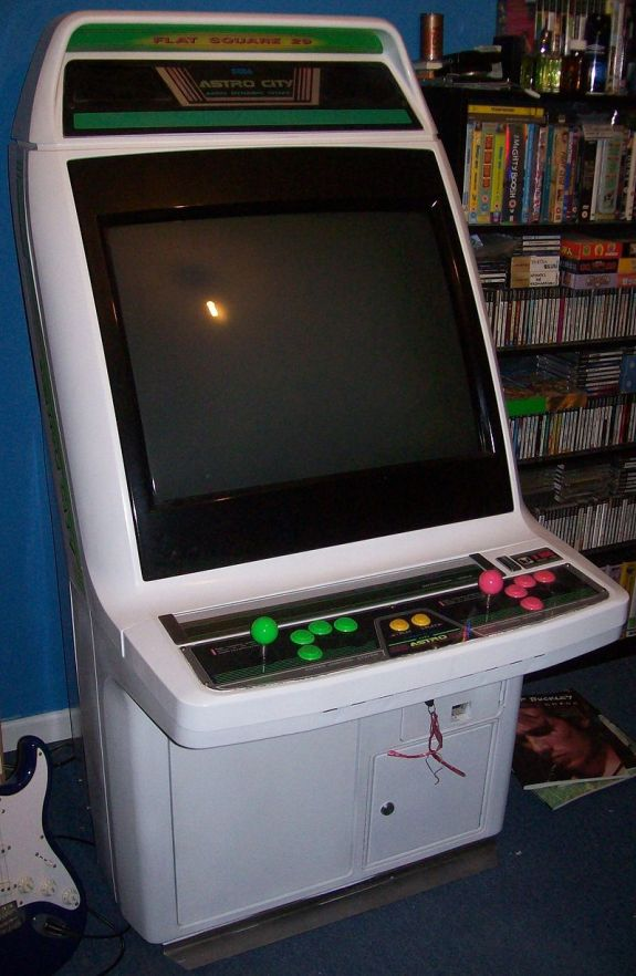 Sega Astro City Candy Cabinet