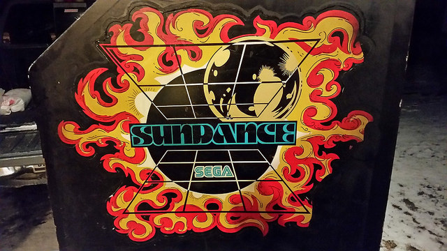 Sega Sundance Side Art