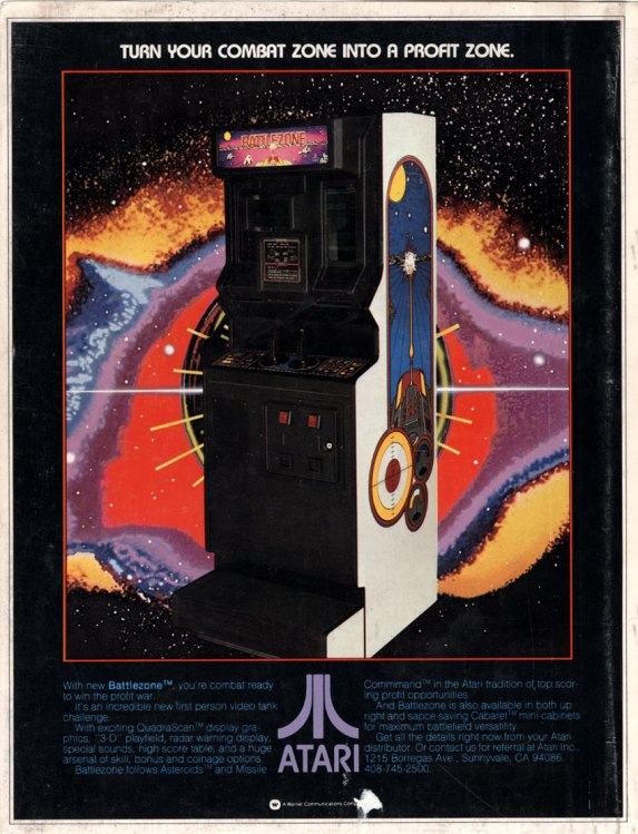 A hole in the Atari Battlezone story – The Arcade Blogger