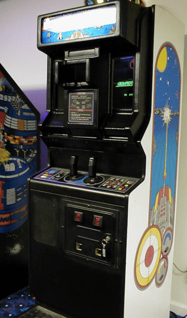 Battlezone Upright Cabinet