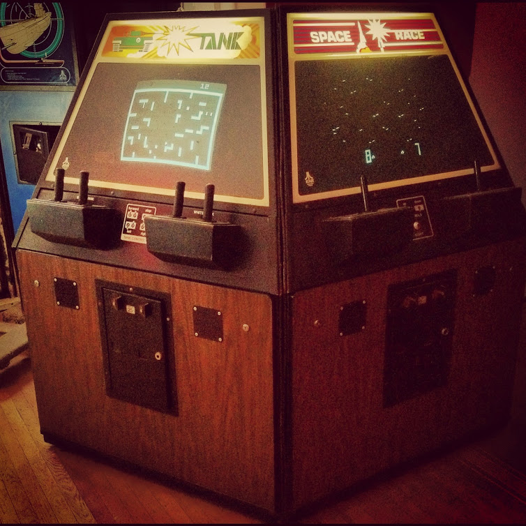 Atari Theatre Tank & Space Race