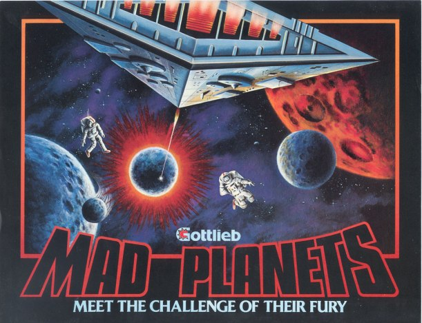 Mad Planets Flyer 1