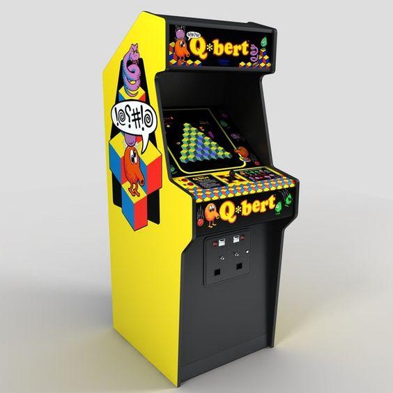 Q*Bert Cabinet