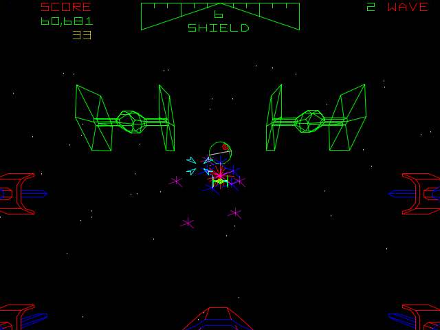 Atari Star Wars Screenshot