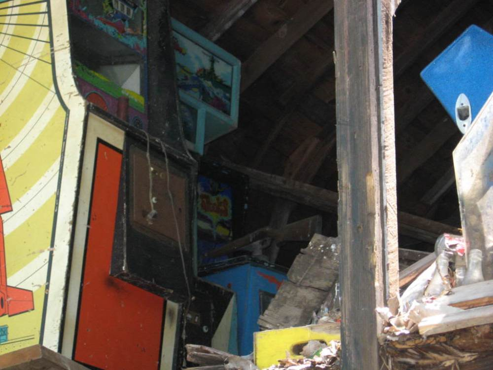 Games in the barn Loft