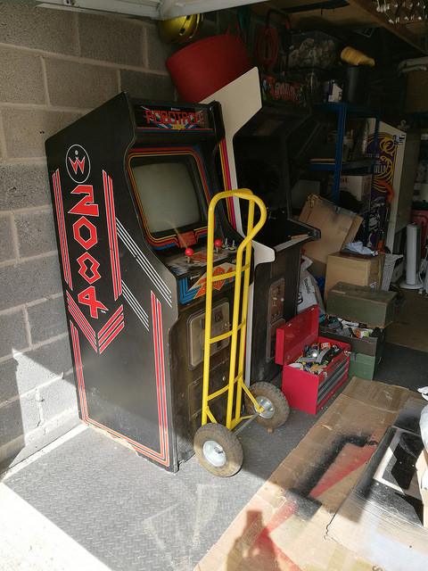 Robotron in Garage