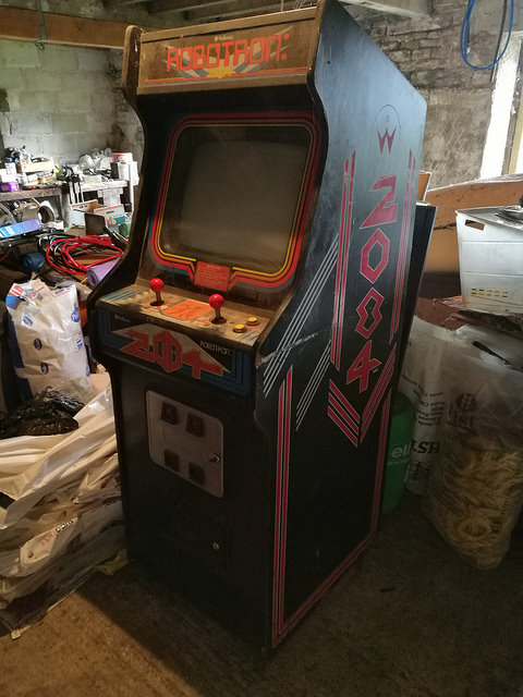 Robotron Not Moved