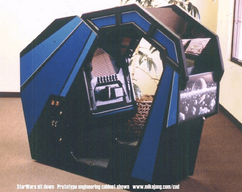 Atari Star Wars Cockpit Prototype