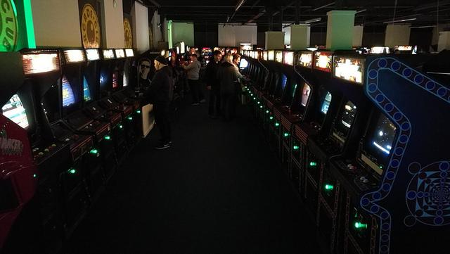 Arcade Club Entrance
