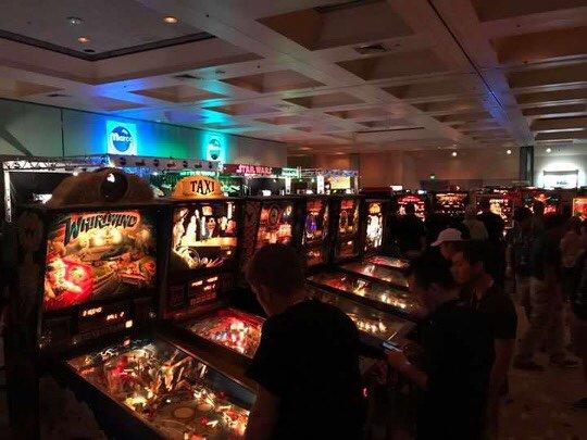CAX 2017 pinballs