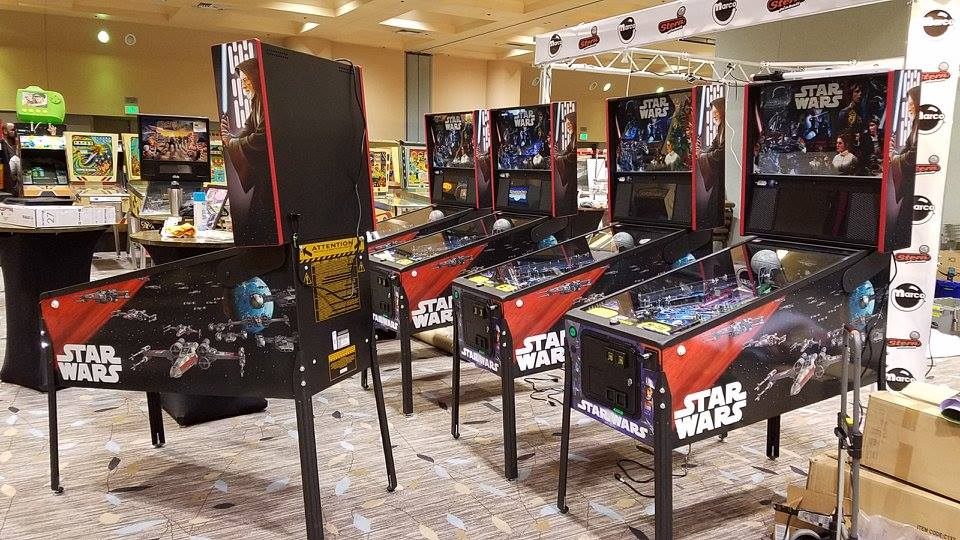 Star Wars Stern Pinballs
