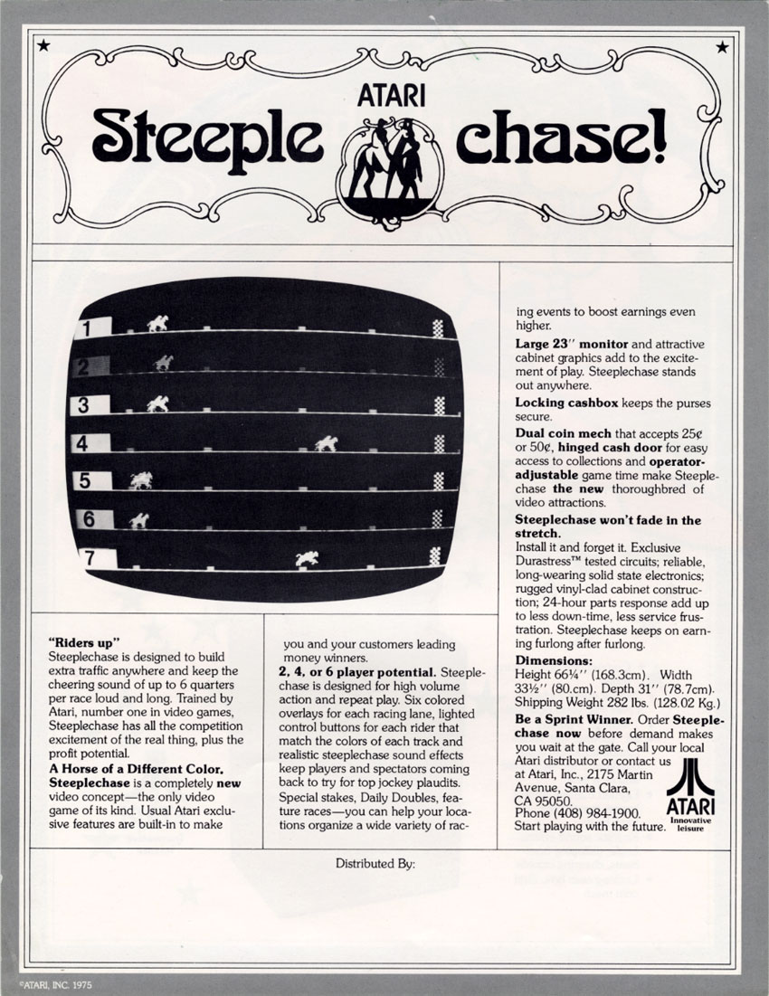 Steeplechase Flyer 2