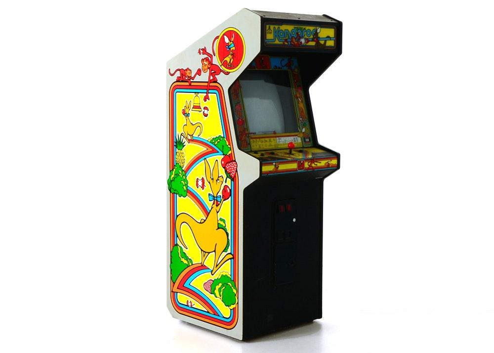 Atari Kangaroo Upright Cabinet