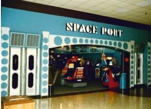 Space Port Arcade Cumberland Mall Vineland NJ