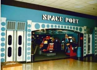 Space Port Arcade Cumberland Mall Vineland NJ