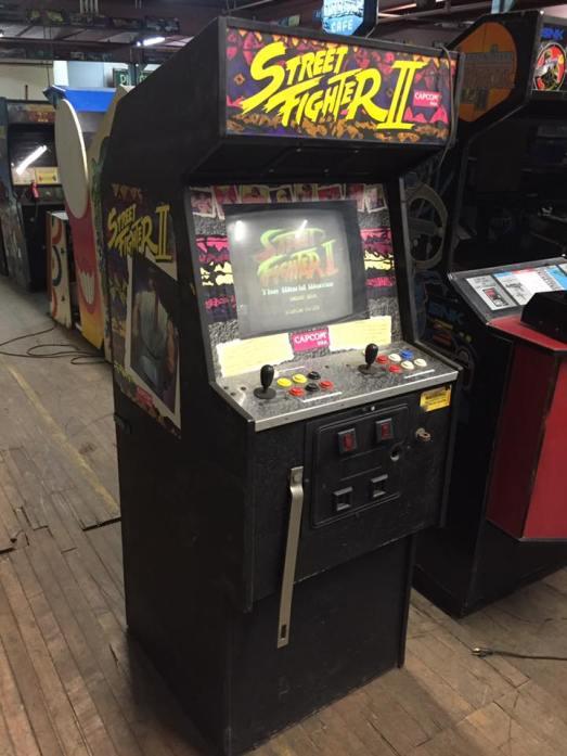 Defender Street Fighter II