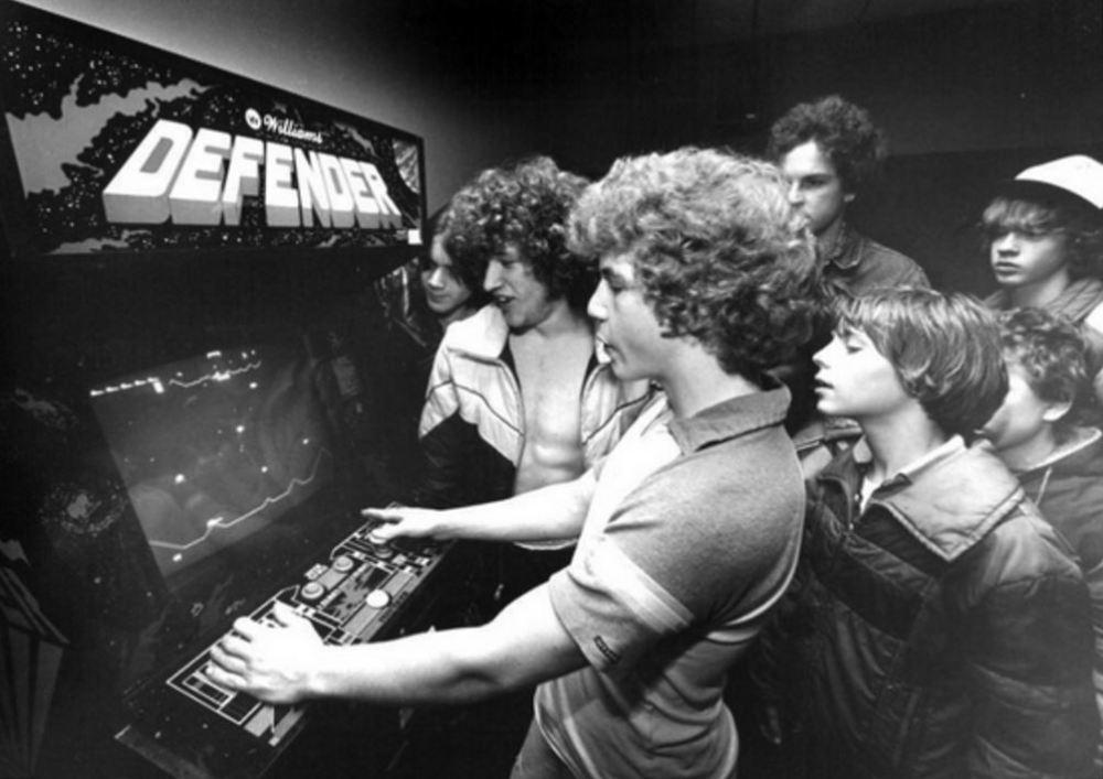 Kids Playing Defender