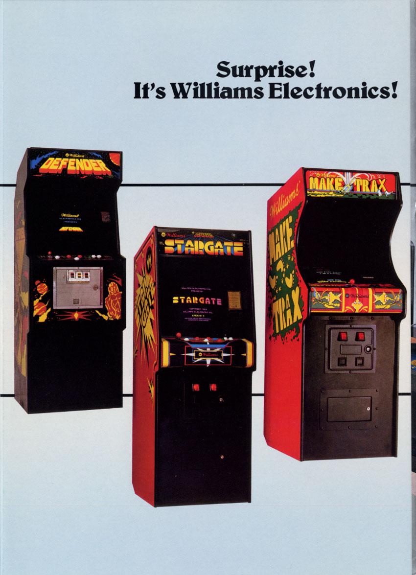 Williams Inc  Arcade Marketing Materials – The Arcade Blogger