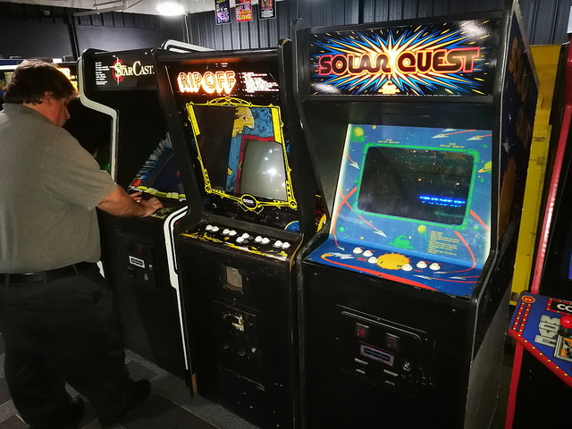Good Original Collectibles Arcade Gaming Knowledgeable Cinematronics Solar Quest Flyer