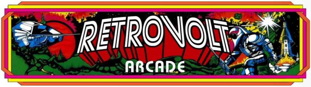 Retrovolt Arcade Logo