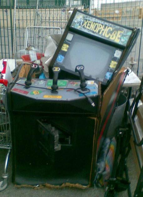 Zonophobe Water Damage creidt Andys-Arcade