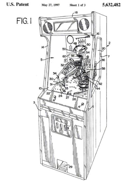 The Pinball Circus US Patent