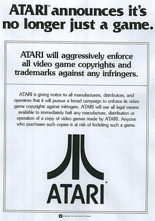 Atari Legal