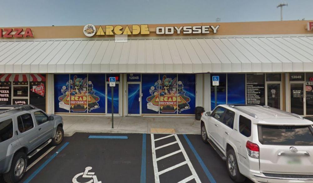 arcade odyssey outside