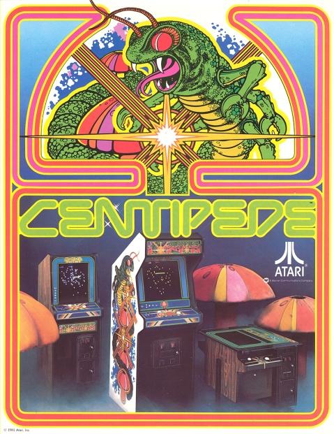 Atari Centipede Flyer