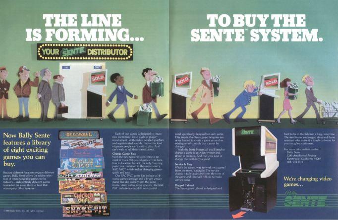 Bally Sente System Flyer