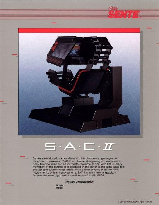 Sente SAC 2 Cabinet
