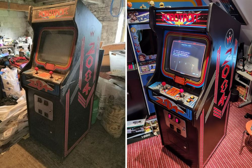 Robotron Before After 1