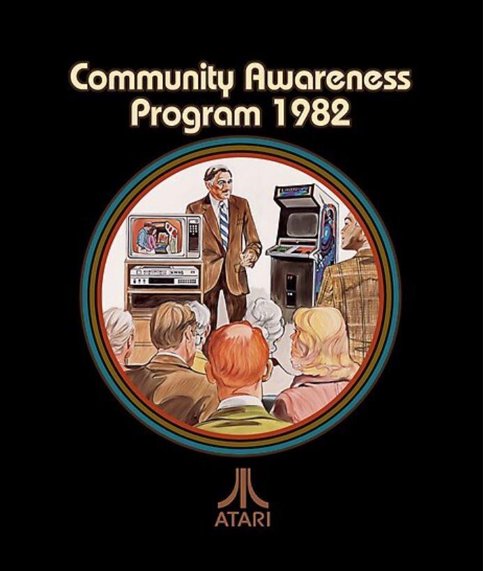 Atari Community Awareness Program Header