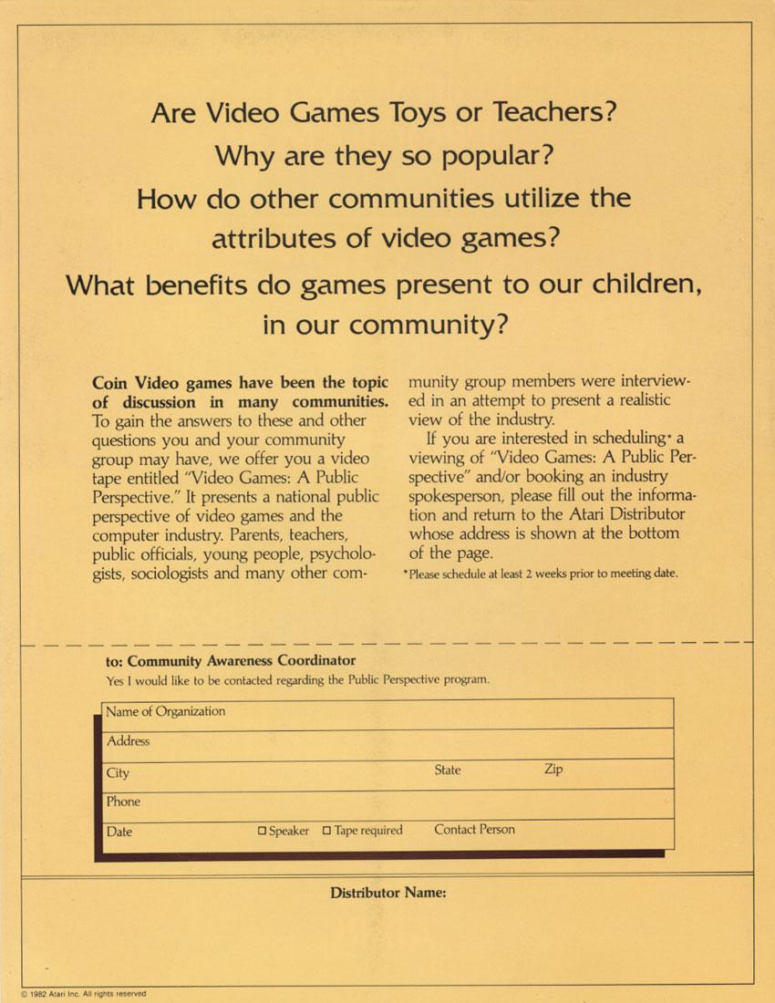 Atari Cumminity 2